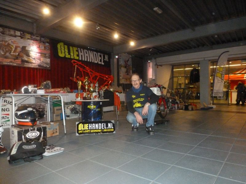 13-14 january 2018 Rosmalen Netherlands Herman Jolink for the stand from the Dragracing Team Herman Jolink