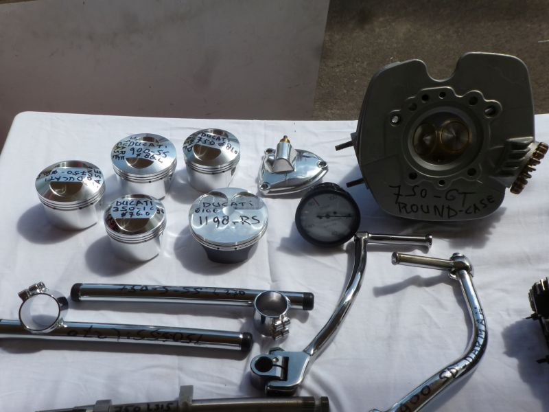 We deliver al size J-E Pistons from the USA