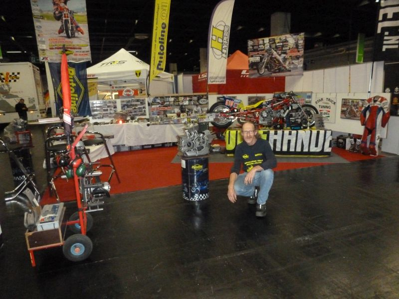 2-7 october 2018 the Dragracing Team Herman Jolink Exopsure fore the 7th time at the INTERMOT in Koeln Germany , there where 220.000 visitors from 100 Countrys Saterday the 6th oct Herman Jolink did a Show Run with the Ducati 1198 RS Drag Bike on P1 the public love it